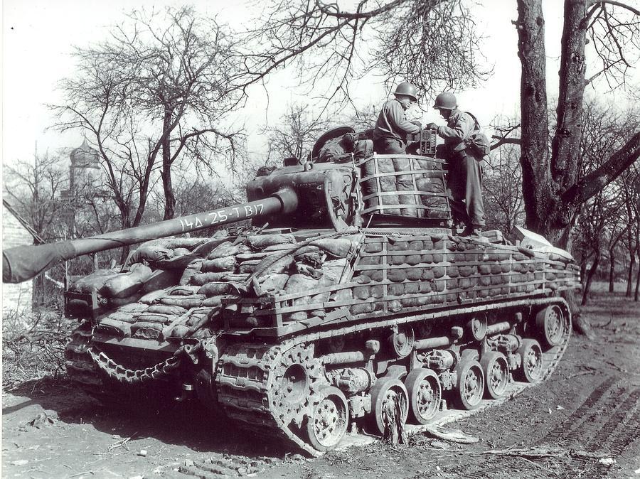 M4 Sherman Digital Art - M4 Sherman by Dorothy Binder