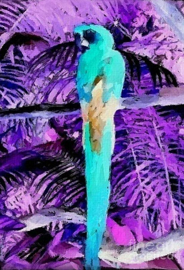 Macaw Mixed Media - Macaw Fantasy by Writermore Arts