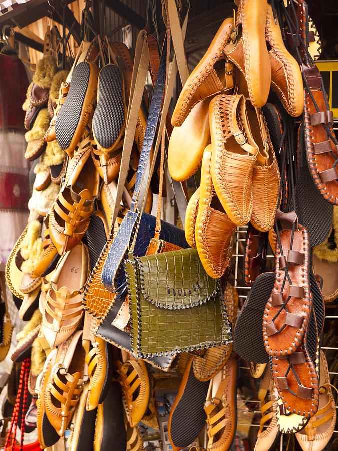 Skopje Photograph - Macedonian Shoes by Rae Tucker