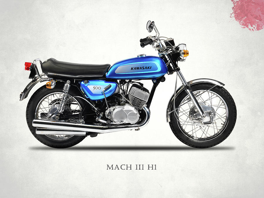 Kawasaki Photograph - Mach IIi H1 by Mark Rogan