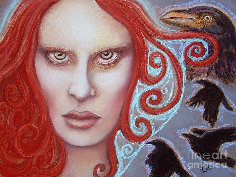 Goddess Painting - Macha by Tammy Mae Moon