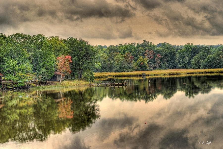 Hdr Photograph - Machadoc Creek by E R Smith