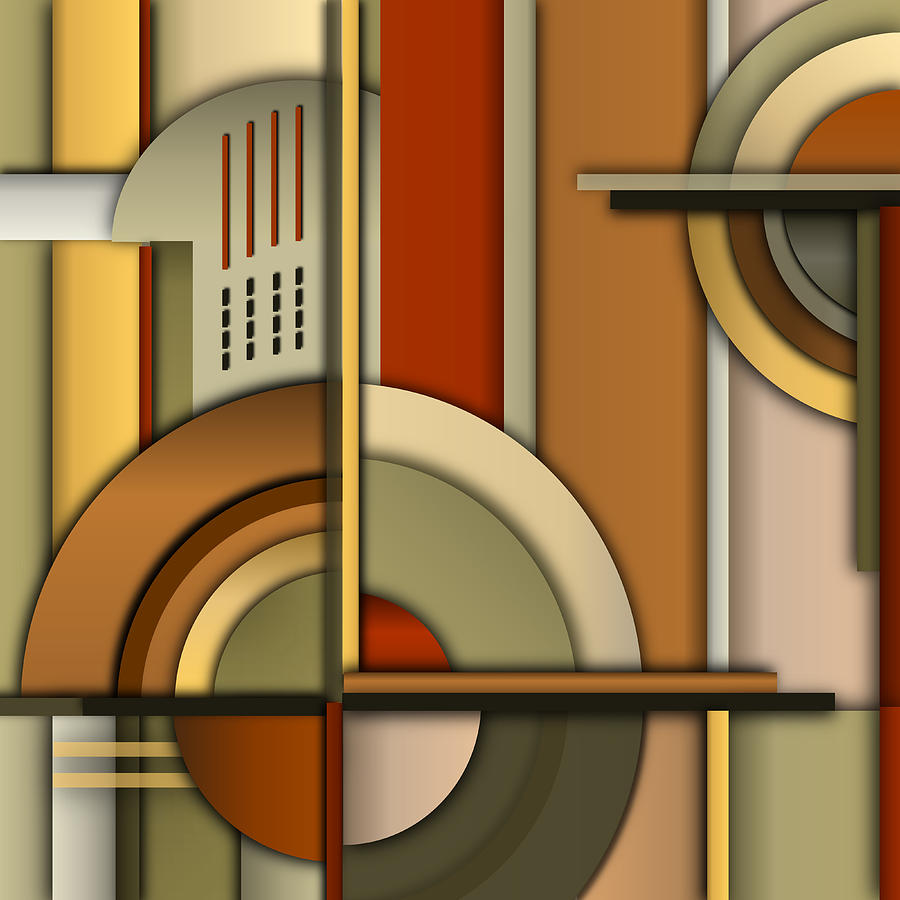 Art Deco Digital Art - Machine Age by Tara Hutton