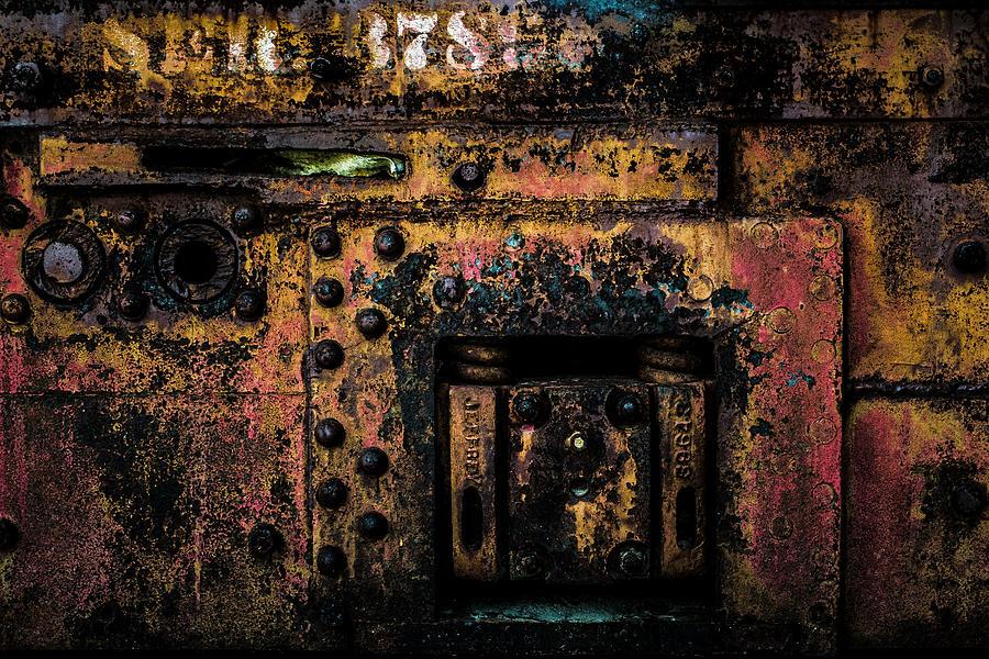 Missouri Mines Photograph - Machine Details by Kristy Creighton