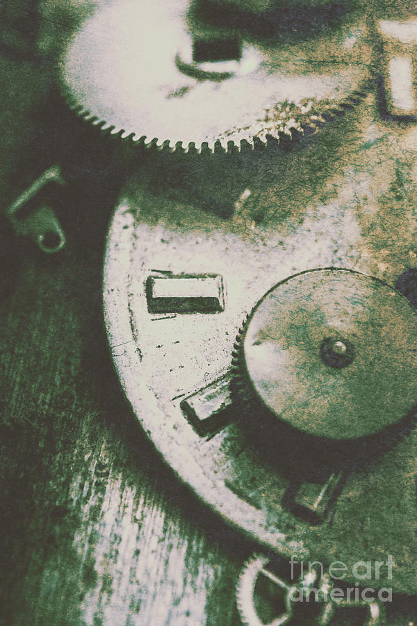 Machine Photograph - Machinery From The Industrial Age by Jorgo Photography - Wall Art Gallery