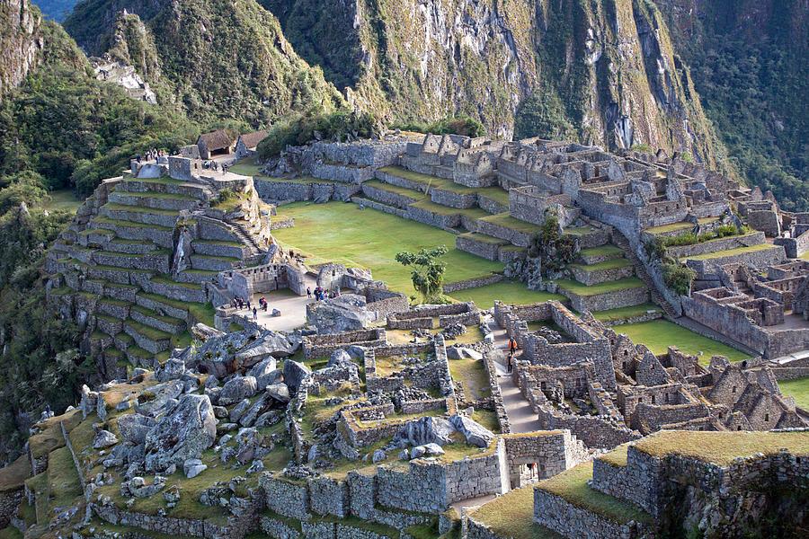 Machu Picchu Inca Ruins Photograph