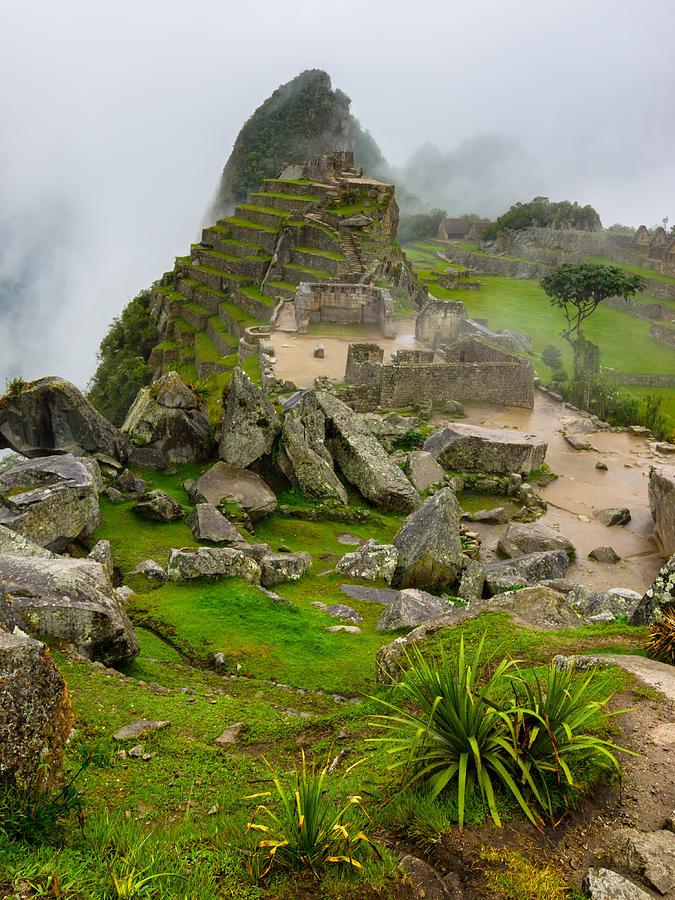 Machu Picchu Photograph - Machu Picchu Peru by Andre Distel
