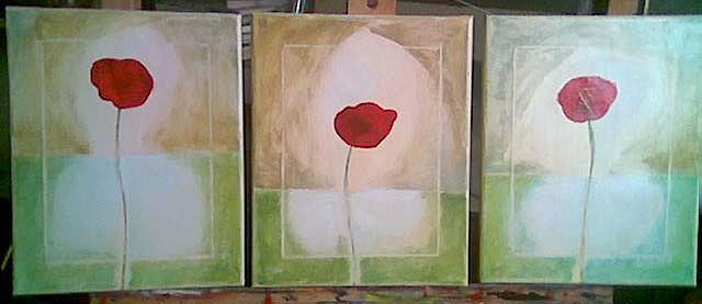 Maci Painting by Roxana Niculae