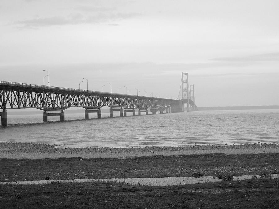 Michigan Photograph - Mackinaw Bridge by Scott Hovind
