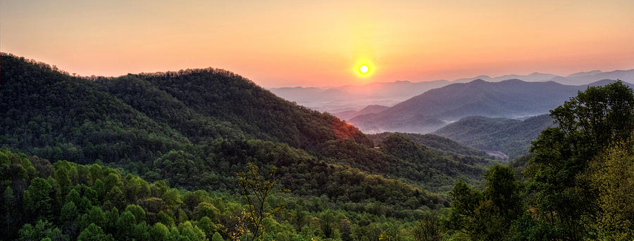 Macon County North Carolina Mountains Photograph by Greg Mimbs