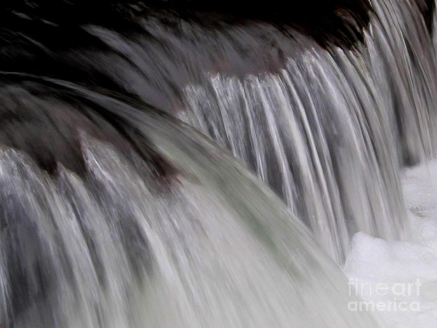 Macro Falls Photograph by Joshua Bales