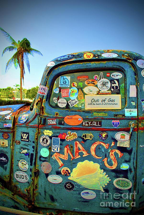 Truck Photograph - Macs by Jost Houk