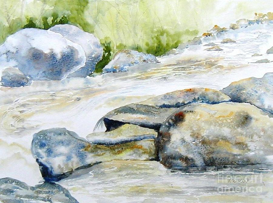 Mad River Rocks by Diane Kirk
