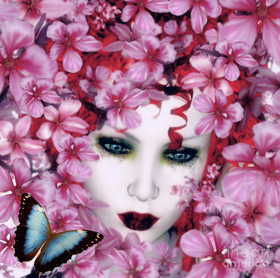 Butterfly Digital Art - Madame Butterfly by Shanina Conway
