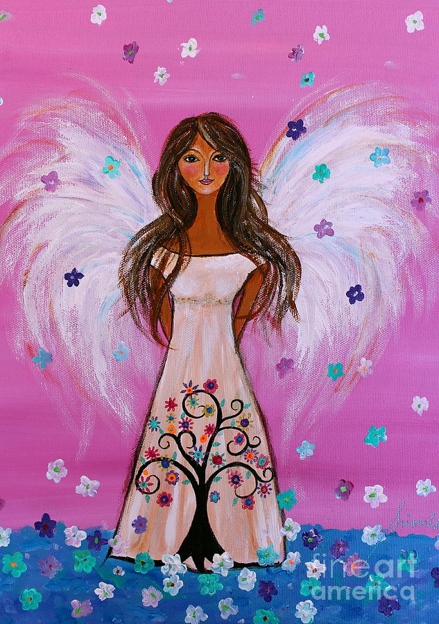 Pink Angel of Life by PRISTINE CARTERA TURKUS