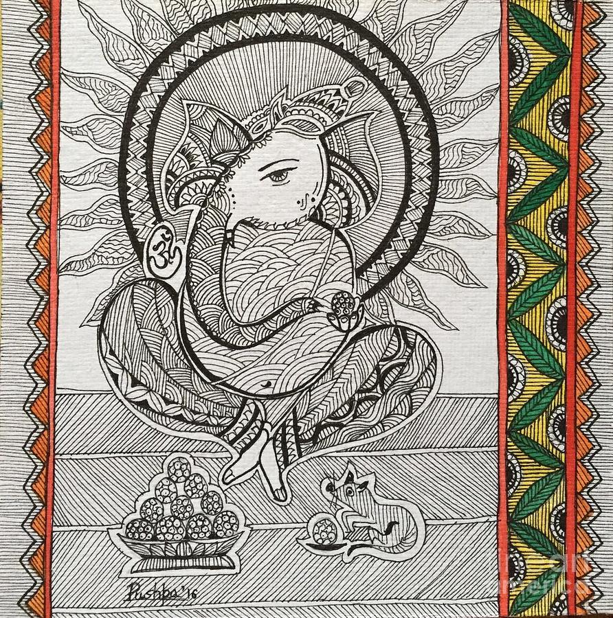 Madhubani Drawing For Kids