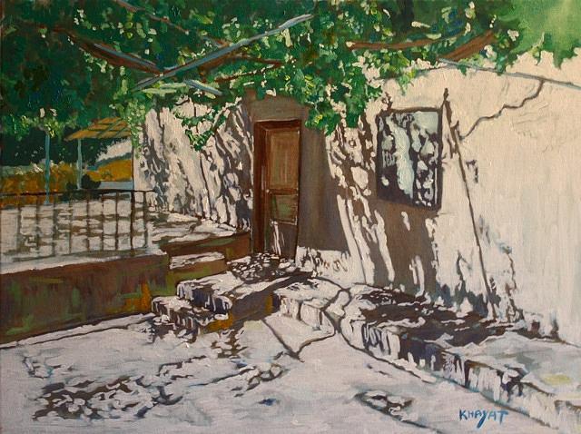 Israel Painting - Madi by Marwan  Khayat