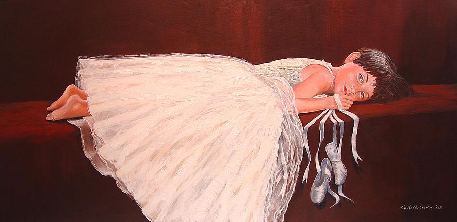 Portrait Painting - Madison by JoAnne Castelli-Castor