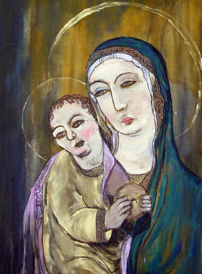 Madonna and Child by Julie Davis Veach