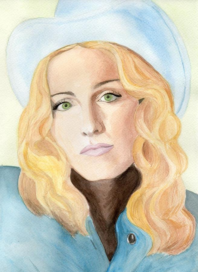 Madonna Painting - Madonna by Eniko Tanyi