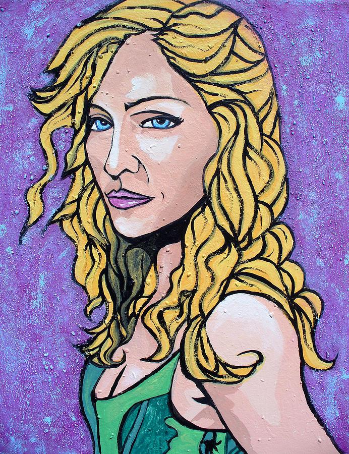 Madonna Painting - Madonna by Sarah Crumpler