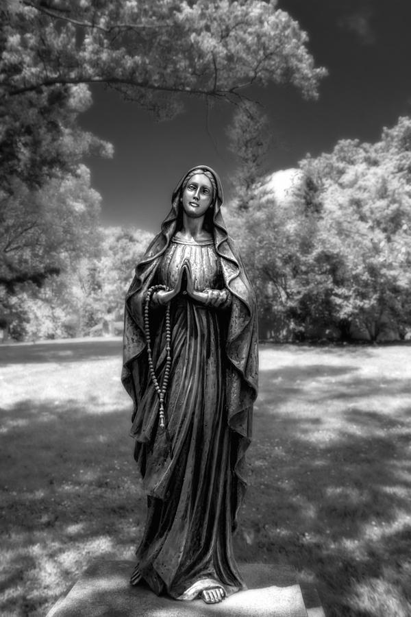 Belief Photograph - Madonna by Tom Mc Nemar