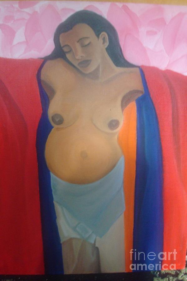 Madre Painting by Sandra Posadas