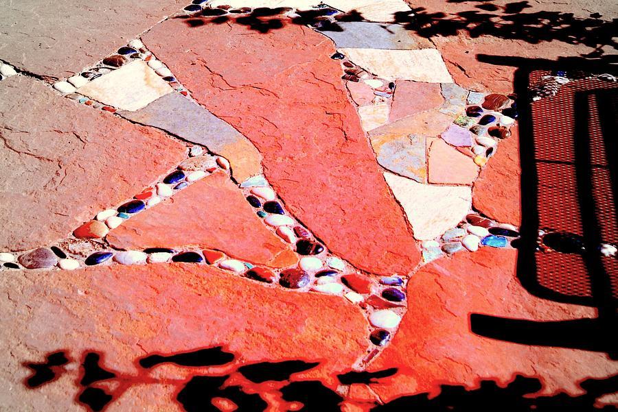 Mosaic Photograph - Madrid Mosaic.. by Al  Swasey