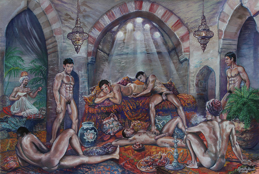 Male Haram in Old Hammam by Marc DeBauch