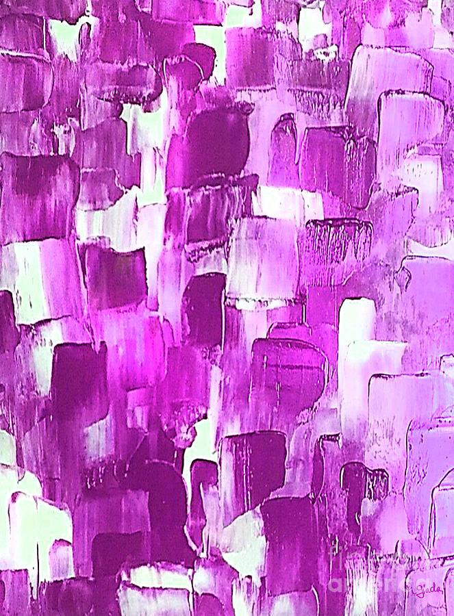Magenta-licious strokes by Giada Rossi