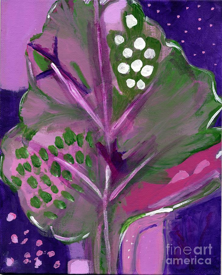 Flower Painting - Magenta Spreen by Olivia  M Dickerson