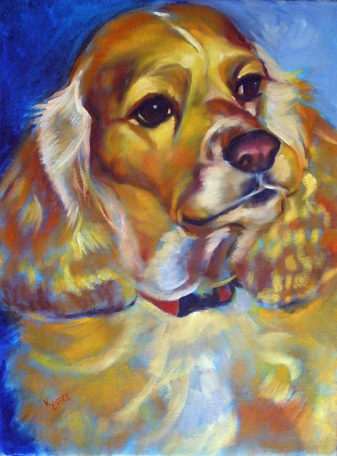 Pet Portraits Painting - Maggie Maye by Kaytee Esser