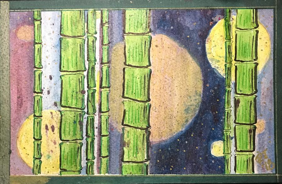 Magic Drawing - Magic Bamboo by Regina Jeffers