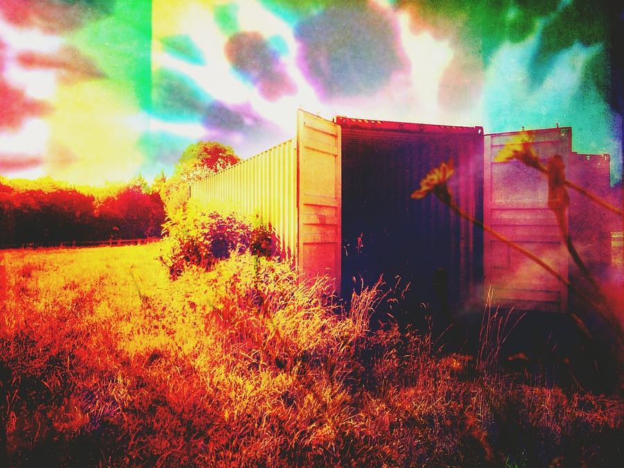Trains Photograph - Magic Box by Madison Adams