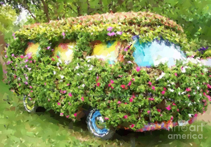 Volkswagen Photograph - Magic Bus by Debbi Granruth