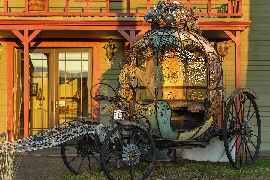 Cinderella Photograph - Magic Carriage by Joe Hudspeth