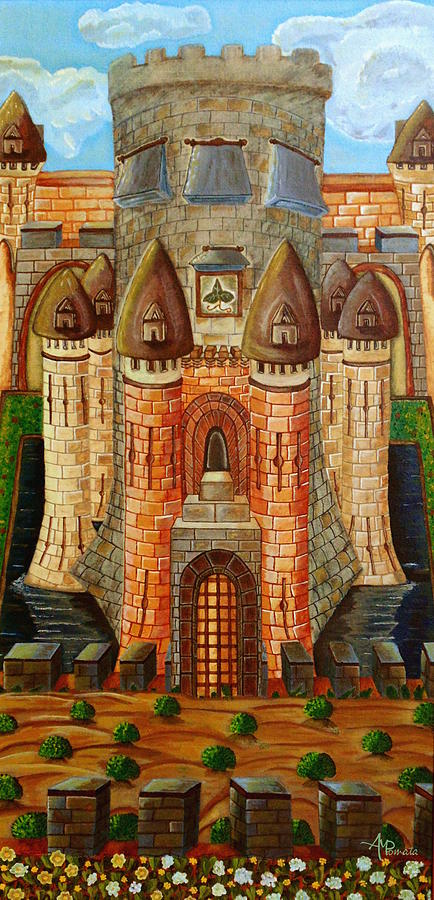 fineartamerica.com - Magic Castle by Angeles M Pomata