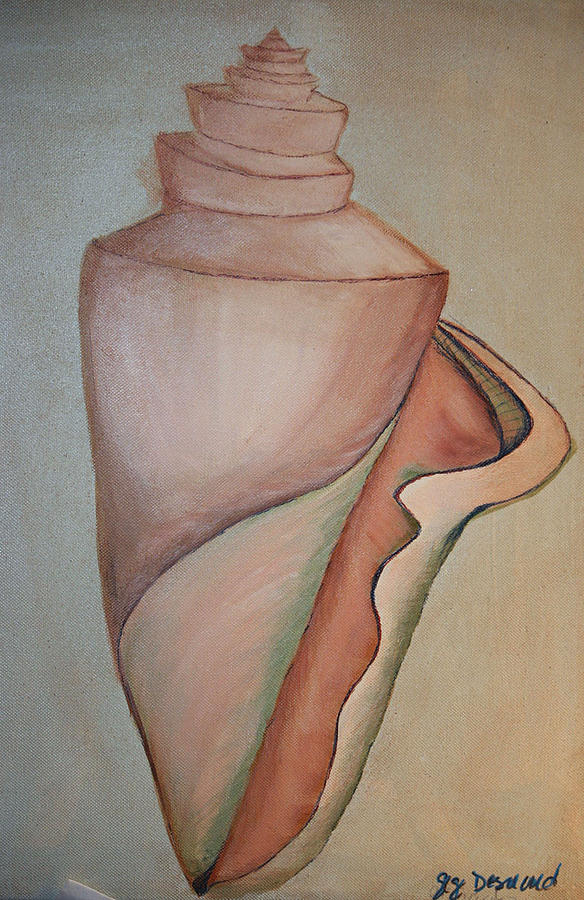 Seashell Painting - Magic by Gigi Desmond