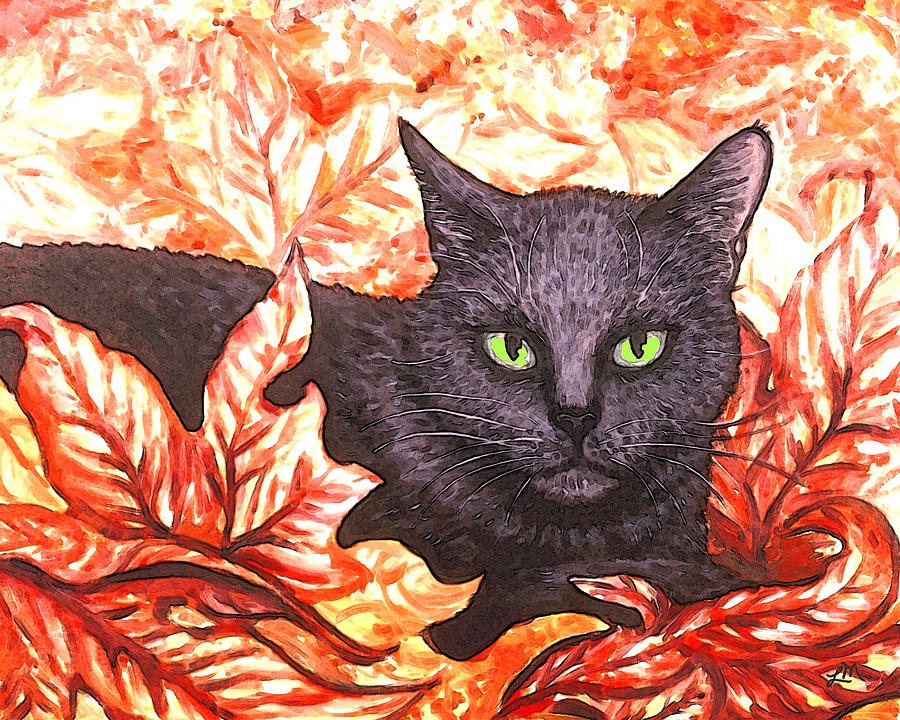 Magic In Fall Leaves Painting