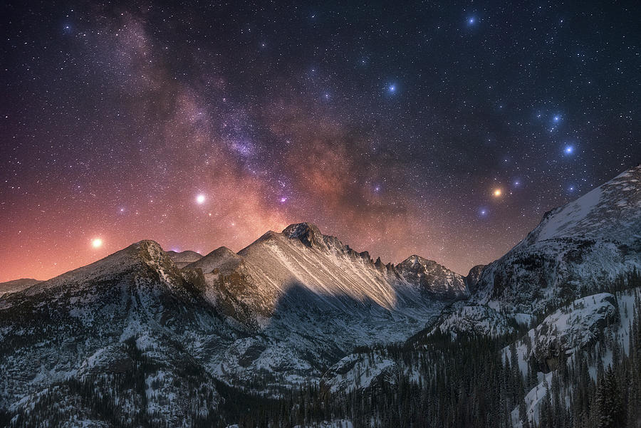 Magic In The Mountains Photograph
