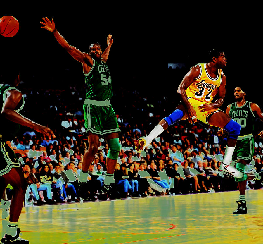 Image result for magic johnson no look