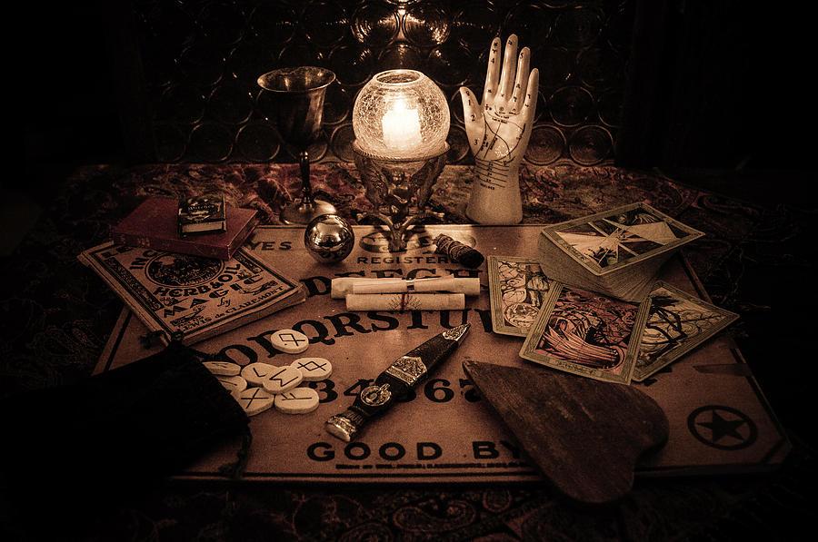 Ouija Photograph - Magic by Kristy Creighton