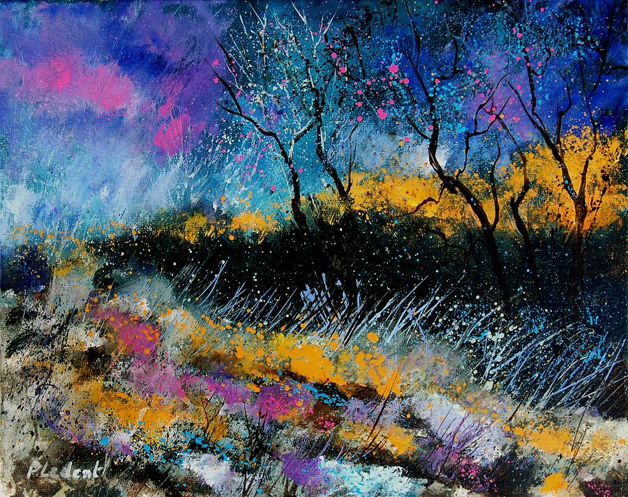 Landscape Painting - Magic Morning Light by Pol Ledent