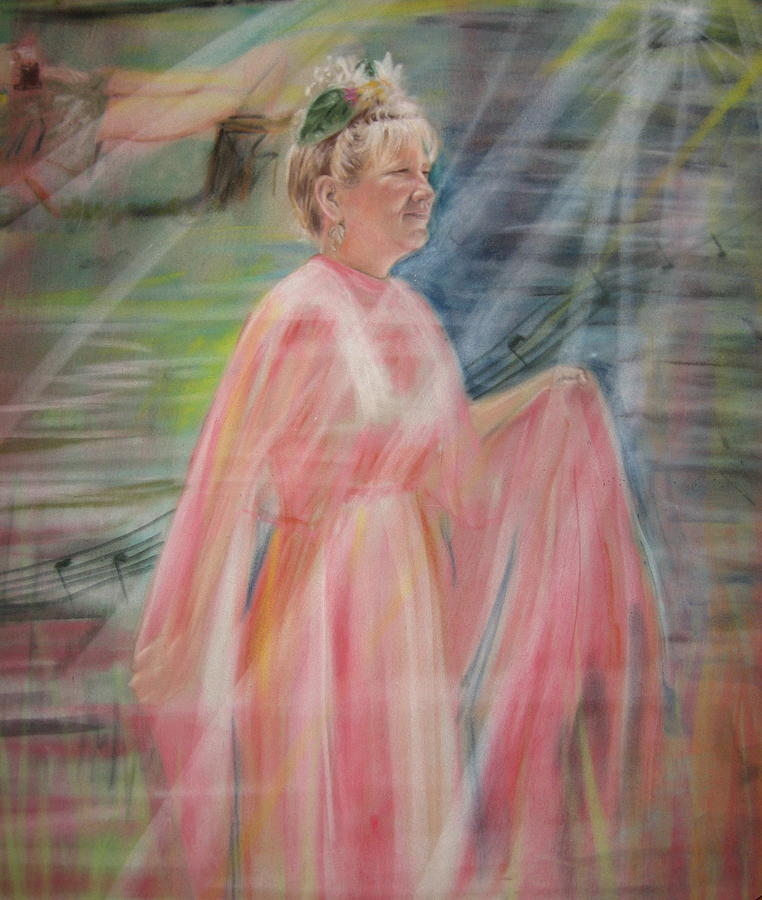 Mother Nature Pastel - Magic Mother Nature by Larry Whitler