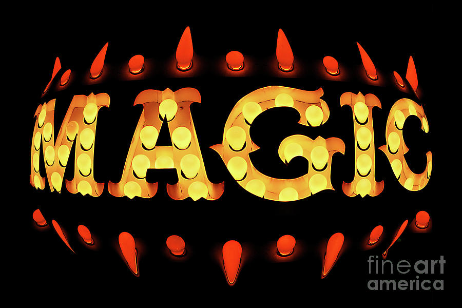 Magic Neon Photograph