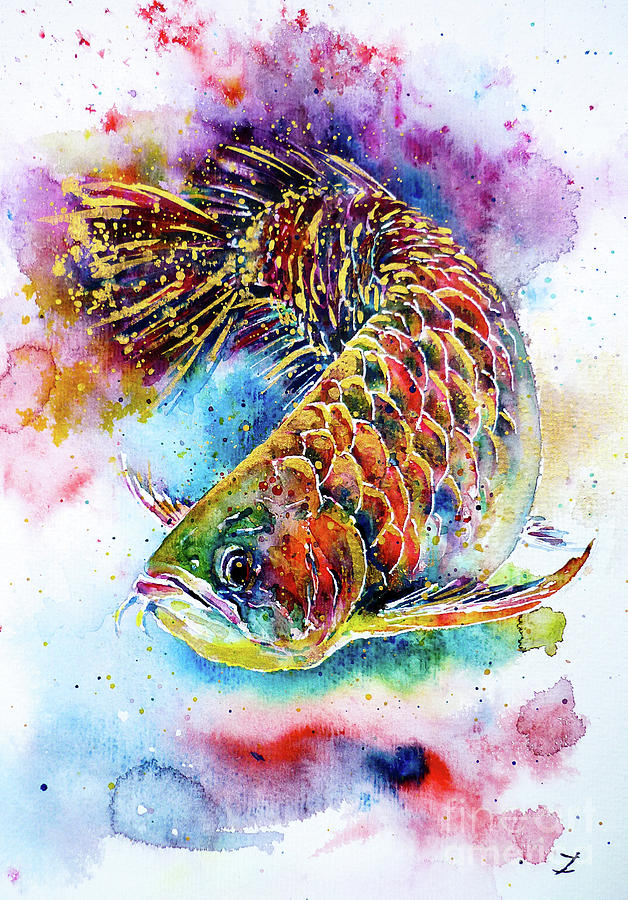 Magic Of Arowana Painting