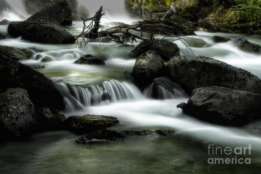 Patagonia Photograph - Magic Patagonia Creek by Timothy Hacker