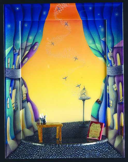 Magic Show Painting - Magic Show by Valerie Walsh