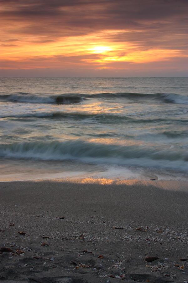 Landscape Photograph - Magical Captiva Beach Sunset by Larry Federman