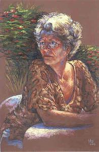 Portrait Painting - Magical Gwyneth by Tina Siddiqui